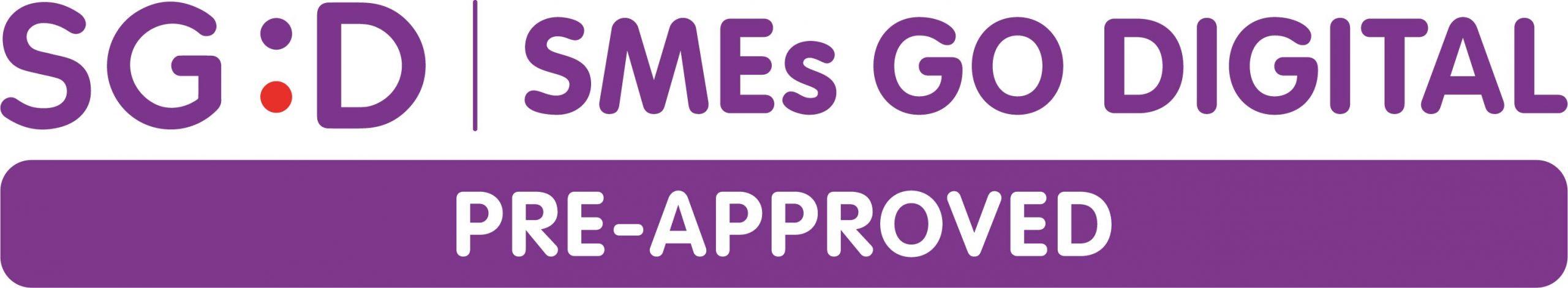 SGD SMEs Go Digital Pre-Approved Logo